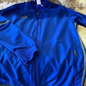 Adidas full zip climacool jacket men's size large
